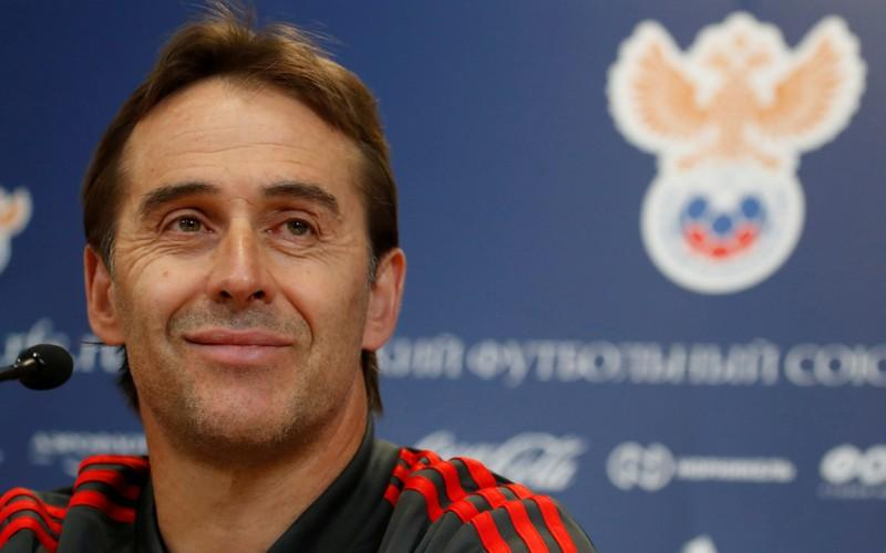 Lopetegui fired by Spain two days before World Cup debut, Hierro takes charge