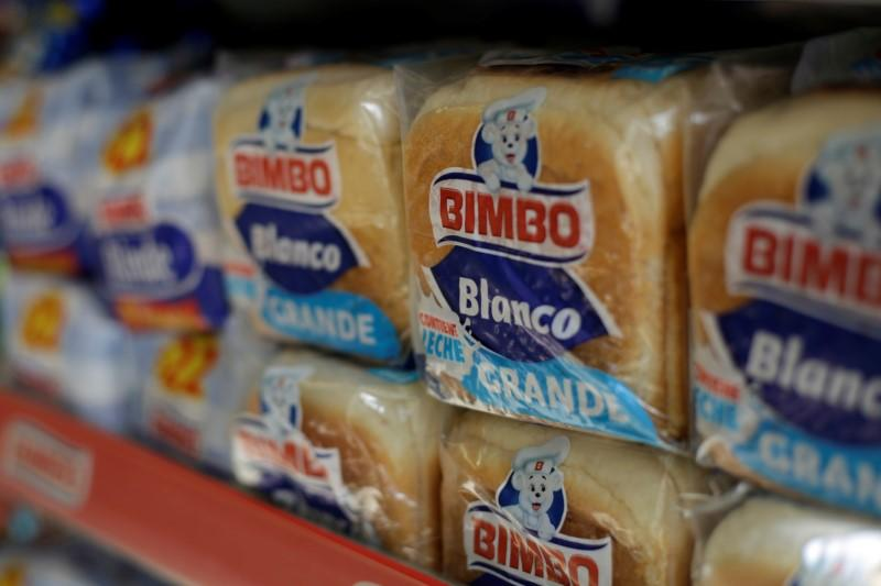 Loaves of bread of Mexican bread maker Grupo Bimbo are seen at a store in Ciudad Juarez, Mexico June 19, 2017. Jose Luis Gonzalez
