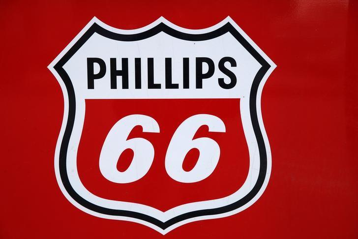 A Phillips 66 sign is seen at a gas station in the Chicago suburb of Wheeling, Illinois, U.S., October 27, 2016. Jim Young