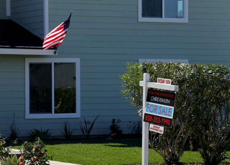 "A ""For Sale"" sign is seen outside a home in Cardiff, California February 22, 2016.  Mike Blake"