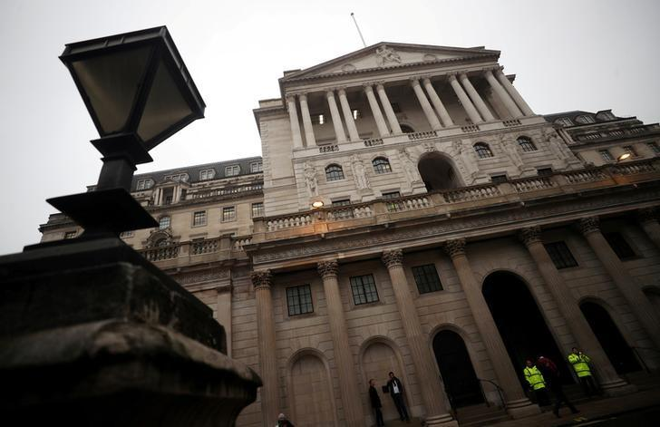 The Bank of England is seen in London, Britain, April 9, 2018.  Hannah McKay