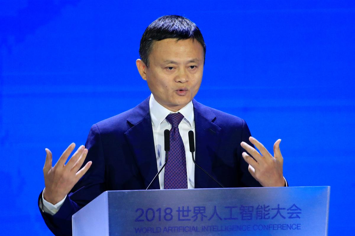 Alibaba's Jack Ma says U.S.-China trade war ends 1 million U.S. jobs promise