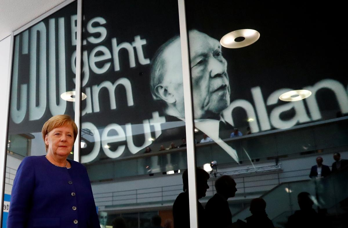 Merkel: CDU wants to continue leading national government with SPD