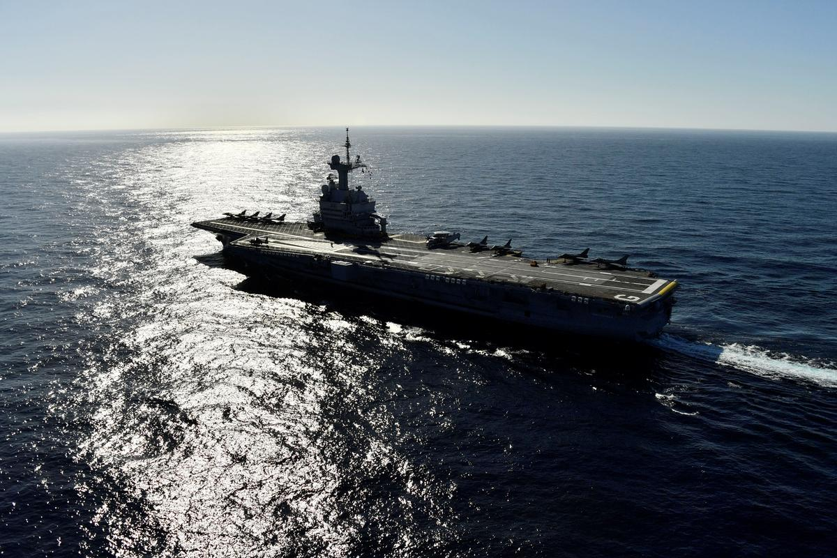 After 1.3 billion euro makeover, French aircraft carrier returns to sea