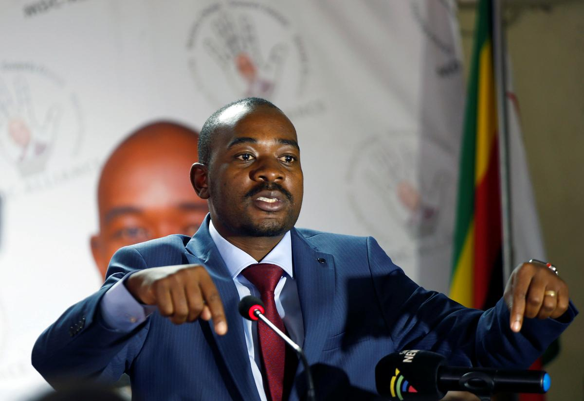 Zimbabwe's Chamisa says he'll testify to inquiry only if president does