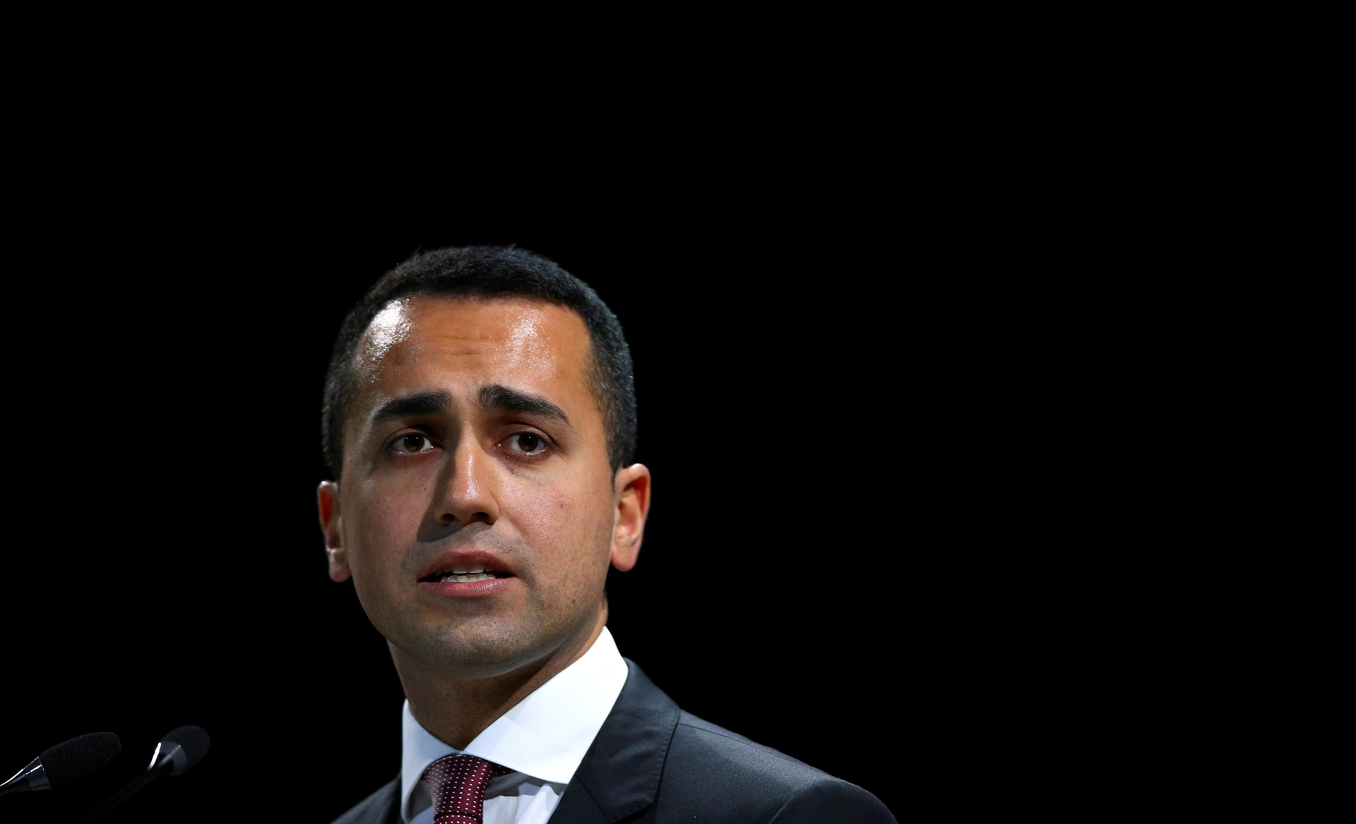 Italy's Di Maio opens to deficit target reduction if budget measures remain