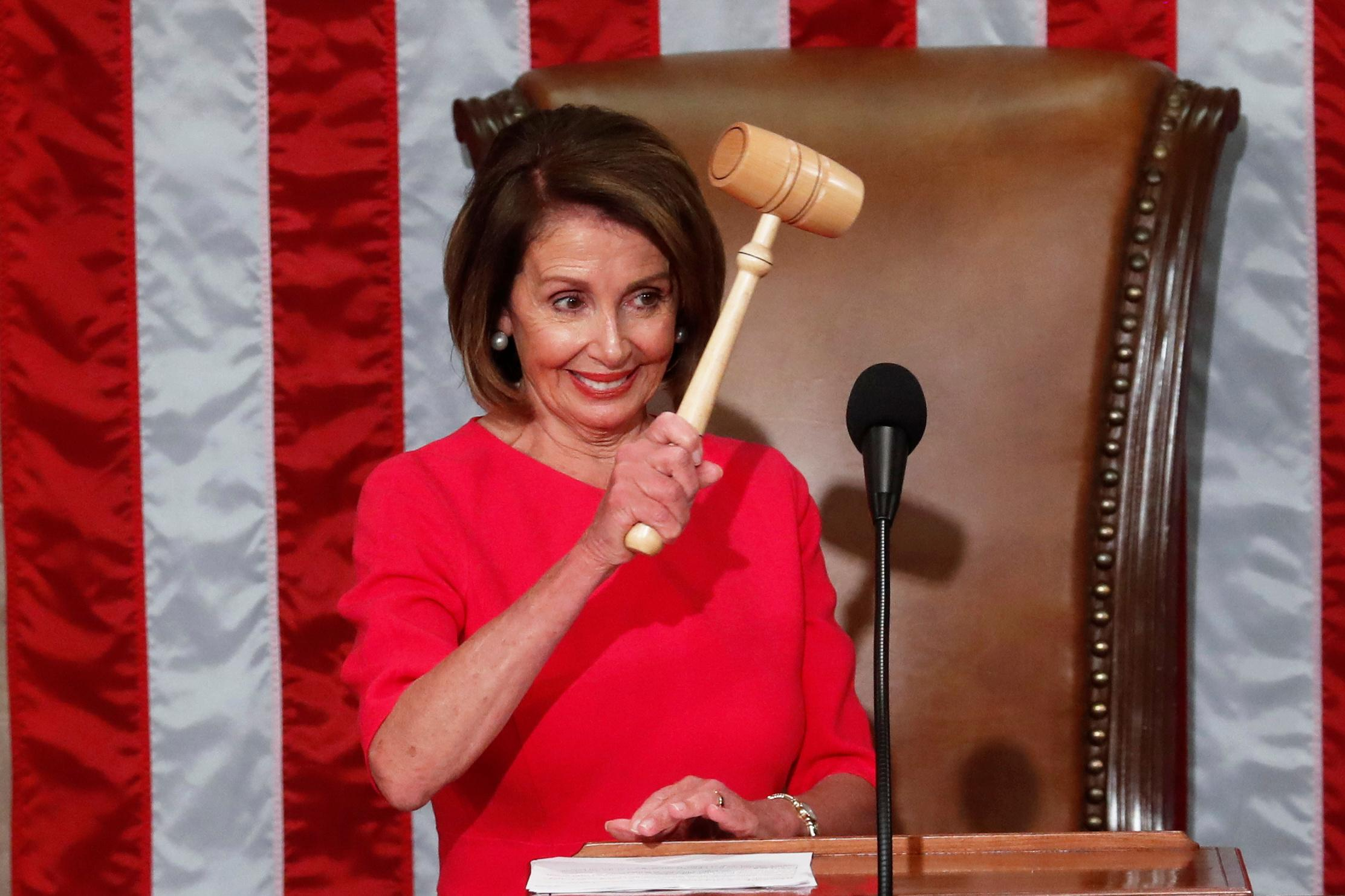 Pelosi regains gavel as speaker of most diverse U.S. House ever 1