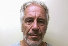 FILE PHOTO: U.S. financier Jeffrey Epstein appears in a photograph taken for the New York State Division of Criminal Justice Services' sex offender registry March 28, 2017 and obtained by Reuters July 10, 2019. New York State Division of Criminal Justice Services/Handout/File Photo via REUTERS. THIS IMAGE HAS BEEN SUPPLIED BY A THIRD PARTY. THIS IMAGE WAS PROCESSED BY REUTERS TO ENHANCE QUALITY, AN UNPROCESSED VERSION HAS BEEN PROVIDED SEPARATELY.