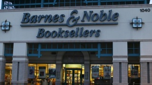 A Barnes & Noble book store is shown in Encinitas, California September 9, 2014. U.S. bookstore chain Barnes & Noble Inc reported a smaller-than-expected fall in quarterly same-store sales as promotions and new products drove up traffic at its stores REUTERS/Mike Blake