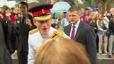 Prince Harry starts Australia visit