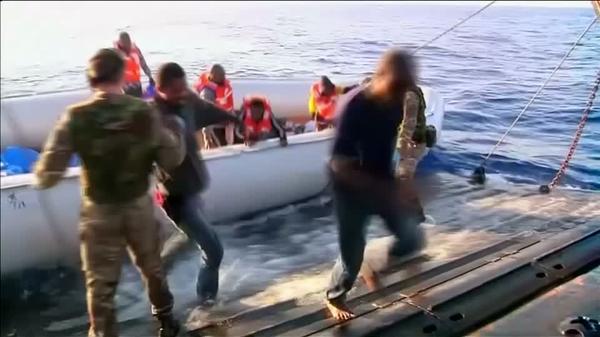 Migrants plead for help as EU plans quotas