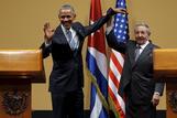 米大統領が歴史的なキューバ訪問、人権など依然隔たりも(字幕・22日)