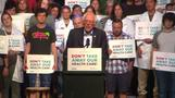 GOP healthcare bill an 'immoral piece of legislation': Sanders