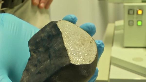 4.5 billion-year-old meteorite found in back garden