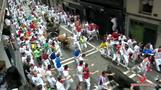 Pamplona's seventh bull run gores two, injures four