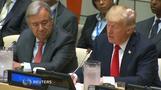 特朗普首次亮相联合国 批评该机构官僚主义