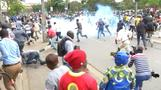 Kenyan police fire tear gas as Supreme Court delivers ruling on election