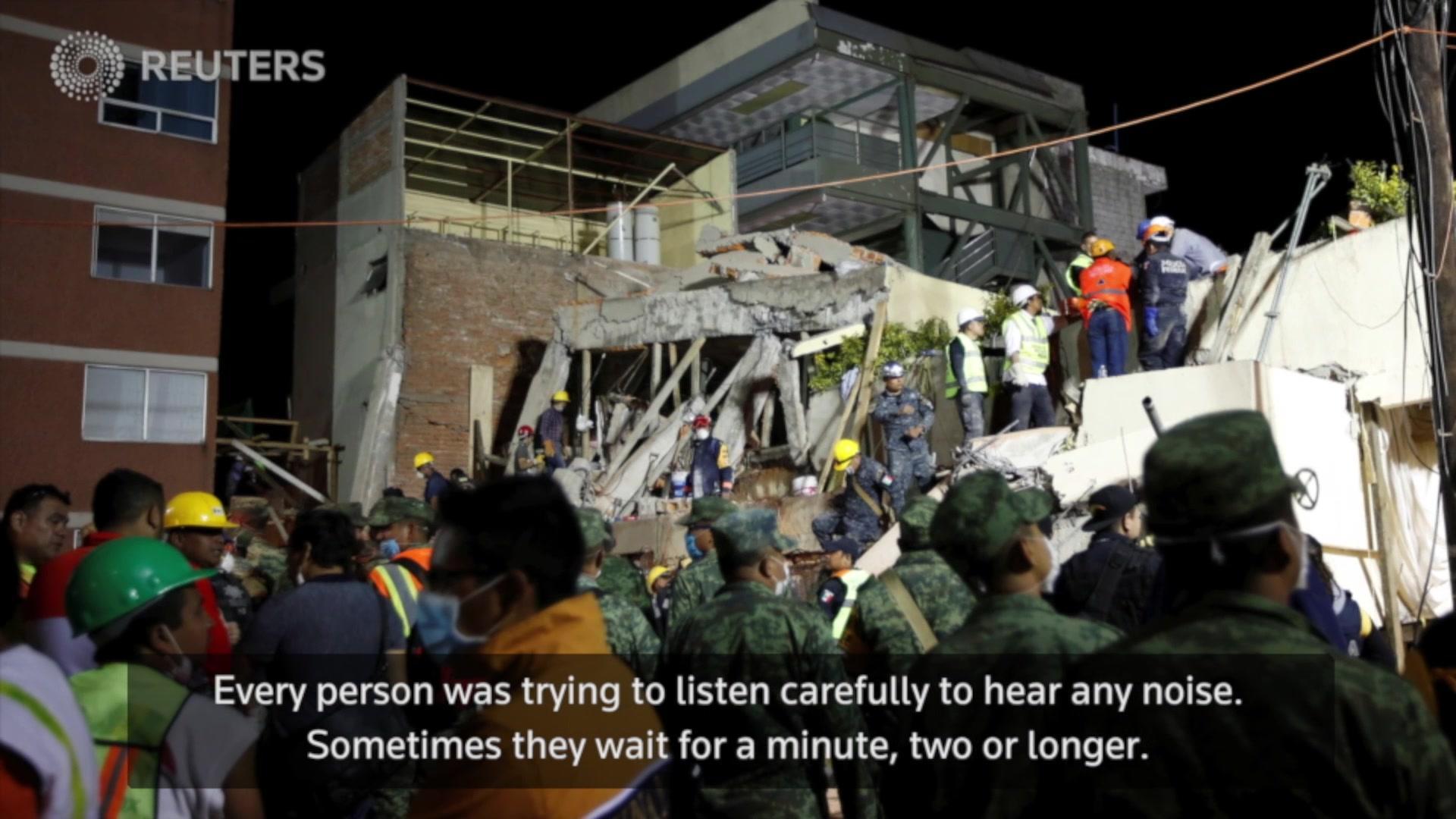 Taking the Shot: Mexico Earthquake
