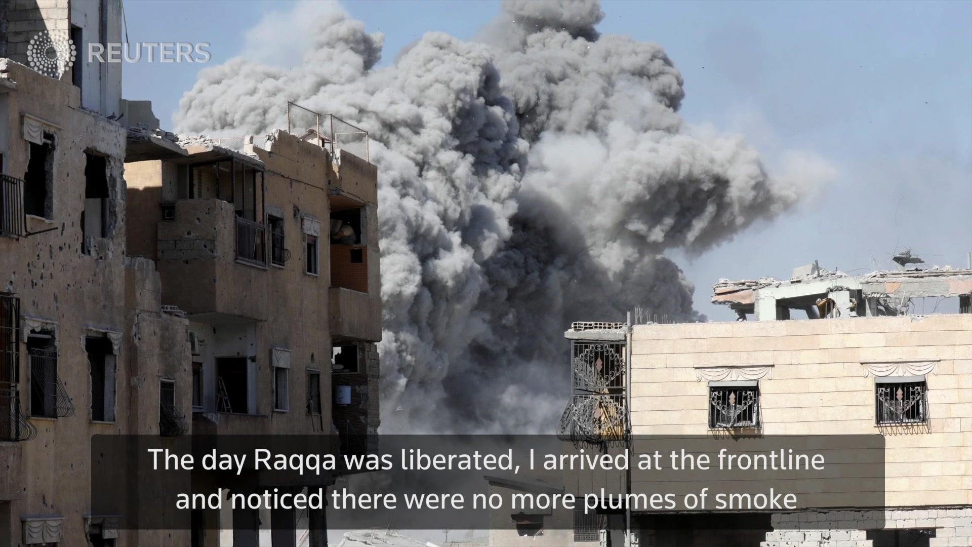 Taking the Shot: Raqqa