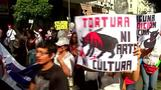 Tensions high as Peruvians turn out to protest bullfighting