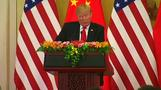 Trump says trade with China has been 'unfair' in joint Xi speech