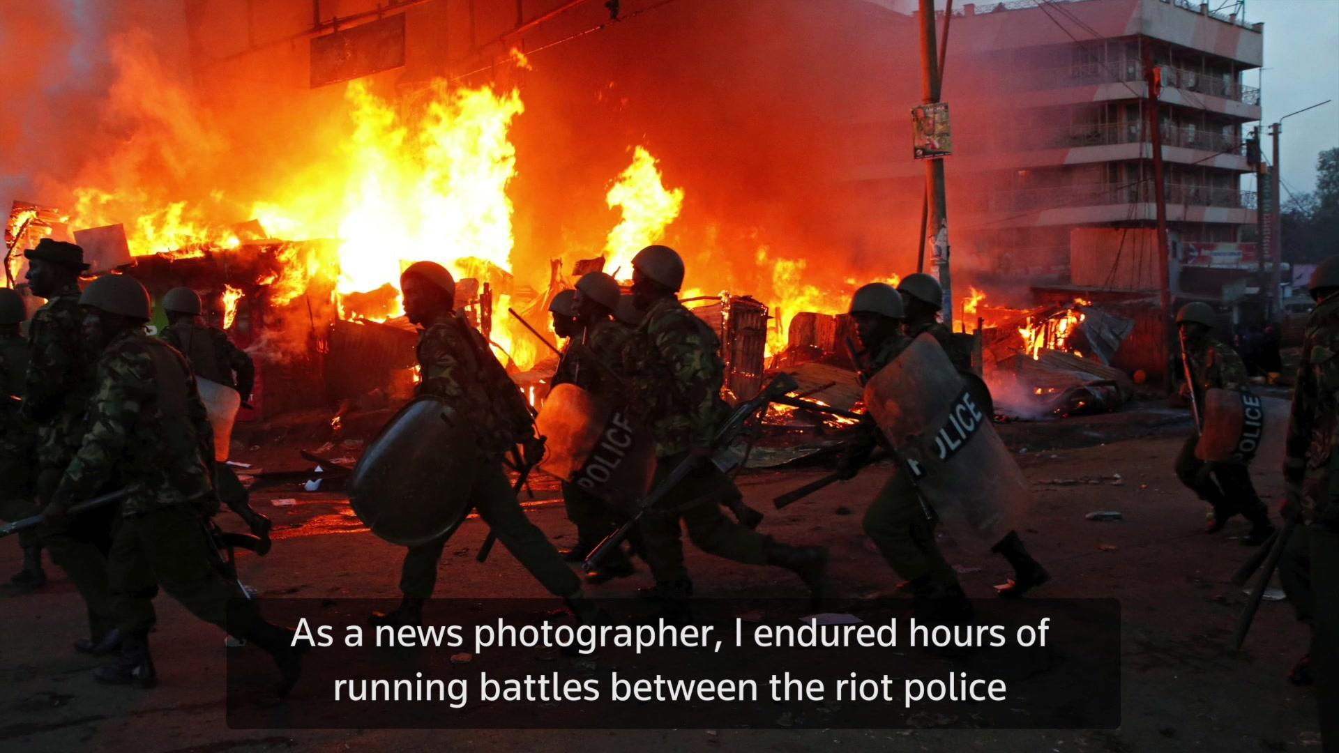Taking the Shot: Kenya Election Riots