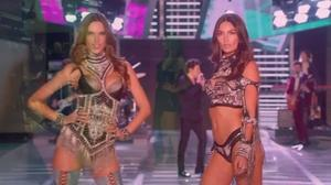 Alessandra Ambrosio walks in her final Victoria's Secret Fashion Show