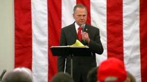 Last rally for Roy Moore before Alabama special elections