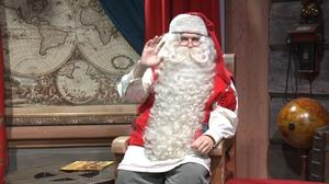 Santa Claus delivers his annual message from Lapland