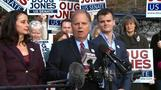 Doug Jones casts vote in Alabama special election