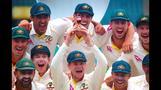 Australia celebrate 4-0 Ashes victory