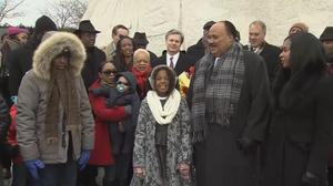 Martin Luther King, Jr. honored at memorial