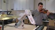 Polish student designs robotic arm that plays music