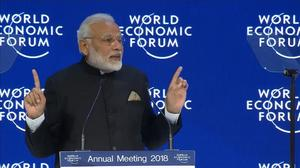 Globalization is losing its lustre, India's Modi tells Davos summit
