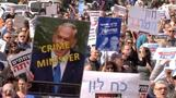 Israeli protesters call for PM Netanyahu's resignation