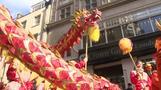 لندن تحتفل بالعام القمري الجديد باستعراضات تقليدية في الحي الصيني
