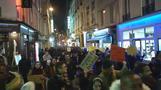 مئات يحتشدون في باريس احتجاجا على مشروع قانون جديد للهجرة