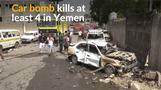 Car bomb in Yemen kills at least four