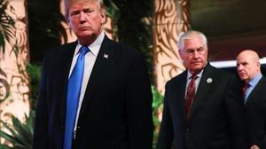 美国务卿蒂勒森遭特朗普解职