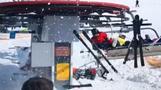 Viele Verletzte bei Skiliftunglück