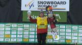 Corning tops Snowboard Slopestyle World Cup leaderboard with victory in Seiser Alm