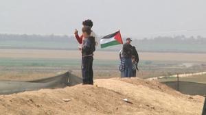 Fresh clashes kill at least one on Gaza border