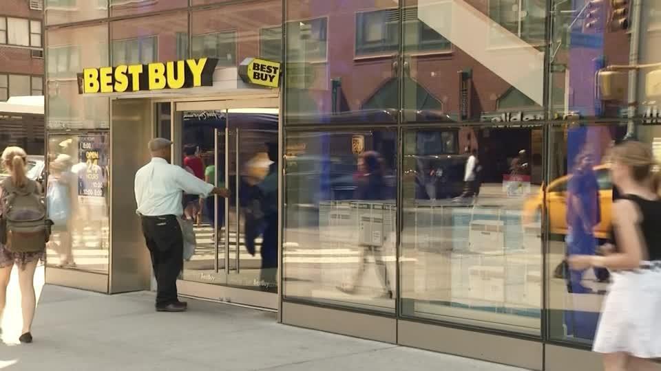Best Buy Sales Surge But Outlook A Concern Reuters
