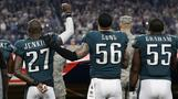 Trump keeps up blitz on NFL's Eagles