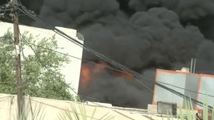 Iraqi tensions rise as ballot box site catches fire