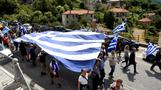 Protests in Greece over Macedonia name change
