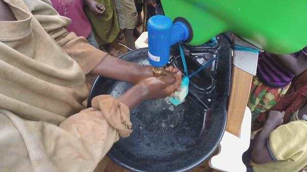 Oxfam's solution to hand hygiene in refugee camps
