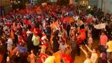 Supporters celebrate Erdogan's victory in Turkey