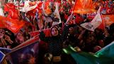 Erdogan claims victory in Turkey's election