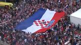 Proud Croatia fans weep, then party after World Cup loss to France